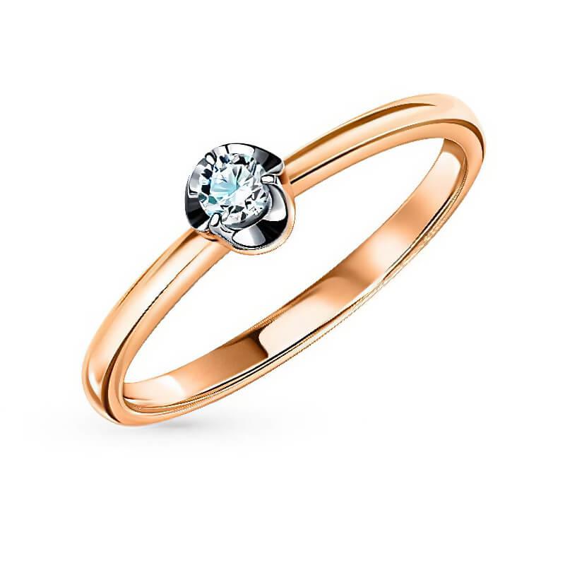 Nhẫn vàng 14K đính kim cương (V0064)
