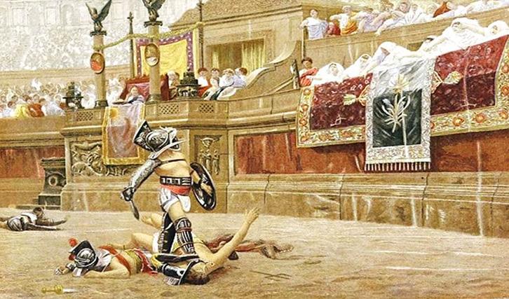 gladiator - Những điều thú vị về Hổ Phách