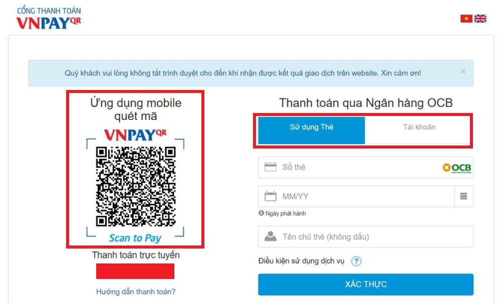 shopping guide vnpay - Hướng dẫn mua hàng online