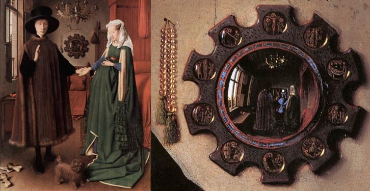 van eyck arnolfini ready - Những điều thú vị về Hổ Phách